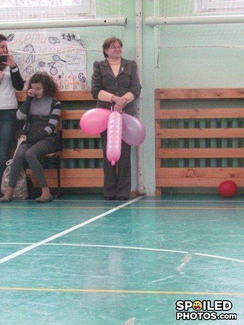 - Balloons can be dicks sometimes.