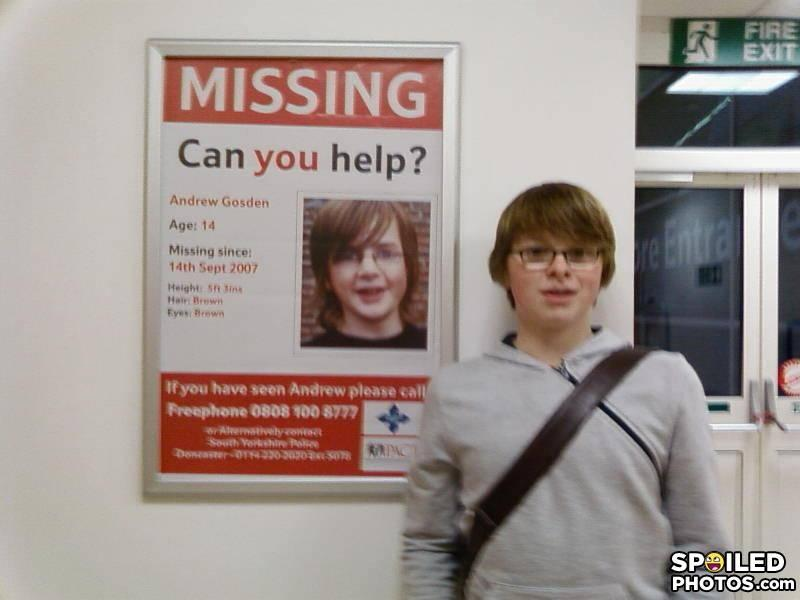 - andrew gosden? bitch that's waldo