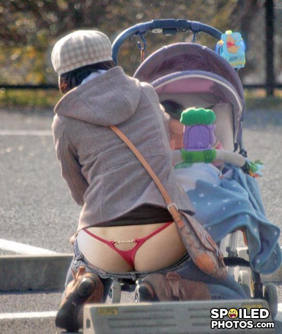 - Nice underwear, mum. MILF much?